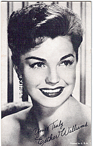 Esther Williams Arcade Card (Image1)
