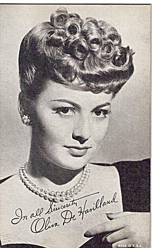 Olivia De Havilland Arcade Card p29214 (Image1)