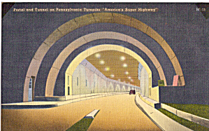 One of Tunnels on Pennsylvania Turnpike (Image1)