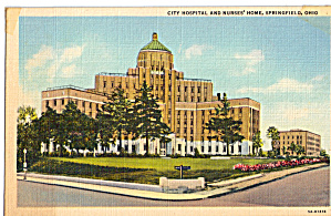 City Hospital and Nurses Home, Springfield, Ohio (Image1)