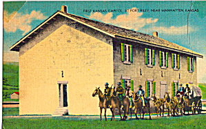 First Kansas Ste Capitol, Fort Riley, Kansas (Image1)