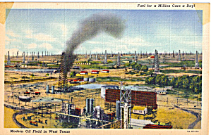 Oil Fields in West Texas (Image1)