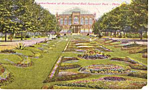 Sunken Gardens Fairmount Park Philadelphia PA p29314 (Image1)