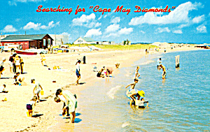 Beach Scene in Cape May, New Jersey (Image1)