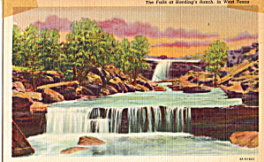 Falls at Hardings Ranch, West Texas (Image1)