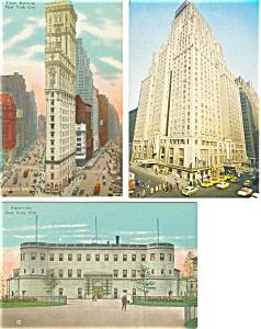 New York City  Postcards Lot 3 p2941 (Image1)