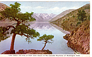 Lake Chelan,  Washington Postcard for WWII GIs (Image1)