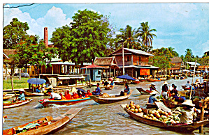Floating Market near Bangkok (Image1)