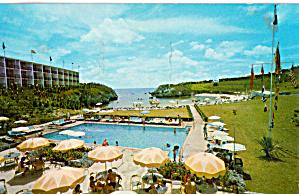 The Carlton Beach Hotel Bermuda Postcard p29469 (Image1)