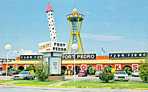 Fort Pedro South Of The Border Postcard P29499