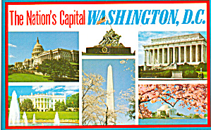 Six View Postcard of Nations Capital (Image1)