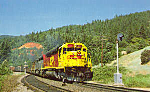 Southern Pacific Emd Sdp45 At Conant Ca P29528