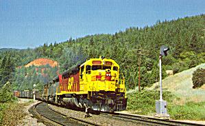 Southern Pacific EMD SDP45 at Conant CA p29528 (Image1)