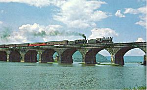 Steam Train on Rockville Bridge Pennsylvania p29530 (Image1)