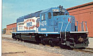 Conrail SD40-2 6373 in Altoona PA p29533 (Image1)