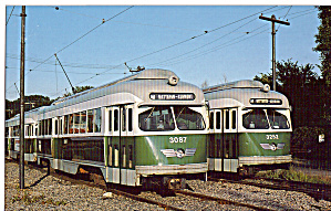 Boston MBTA PCC Cars 3087 and 3252 (Image1)