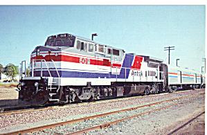 Amtrak GE Dash 8 32BWH Santa Barbara CA p29535 (Image1)