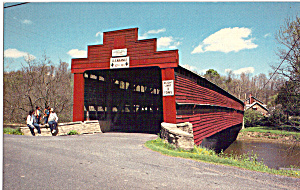 Dreibelbis Covered Bridge, Maiden Creek, Pennsylvania (Image1)