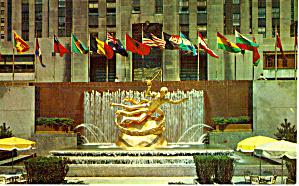 Rockerfeller Center and Lower Plaza New York City p29558 (Image1)
