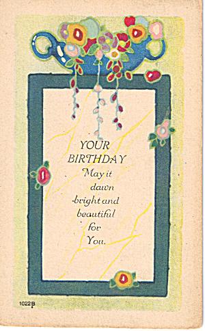 Vintage Birthday Card p29606 (Image1)