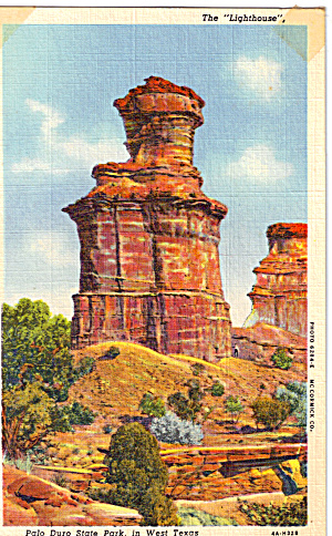 The Lighthouse, Palo Duro State Park, West Texas (Image1)