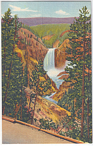 Lower Falls of the Yellowstone from Artist Point (Image1)