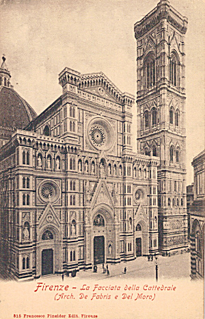 Cathedral In Florence Italy P29631