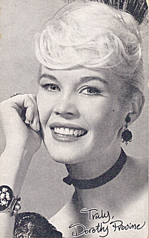 Dorothy Provine Arcade Card p29688 (Image1)