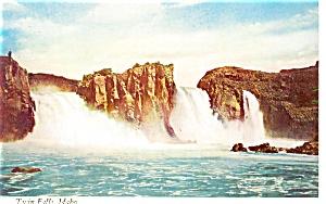 Twin Falls Idaho Postcard p2970 (Image1)