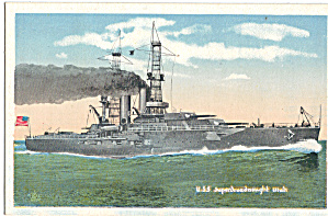 Uss Utah, Bb 31 Superdreadnought Battleship P29710