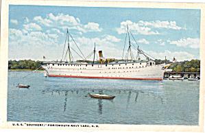 USS Southery, Collier (IX-26) Postcard p29722 (Image1)
