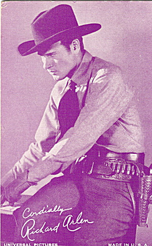 Richard Arlen Actor Arcade Card p29744 (Image1)