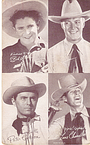 Four On One Western Stars Arcade Card #1 P29745