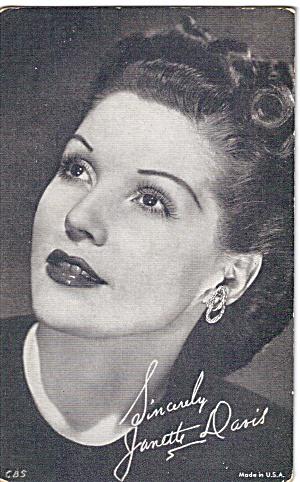 Janette Davis Arcade Card (Image1)