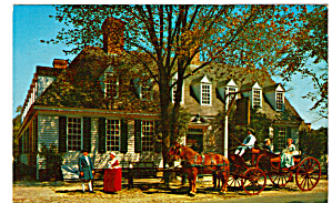 Coach At Raleigh Tavern Williamsburg Va P29815
