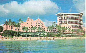 The Royal Hawaiian Hotel, Waikiki Beach, Hawaii (Image1)