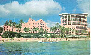 The Royal Hawaiian Hotel Waikiki Beach Hawaii p29832 (Image1)