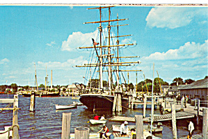 A Living Maritime Museum Mystic Seaport Ct P29874