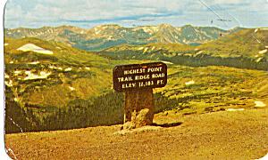 Trail Ridge Road Rocky Mountain National Park CO p29876 (Image1)