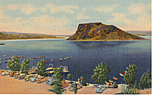 Boat Landing Elephant Butte Lake Nm P29904