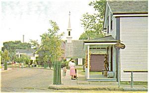 Mystic Seaport CT Postcard p2991 (Image1)