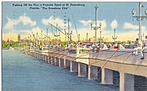 Fishing Pier St Petersburg Florida P29930