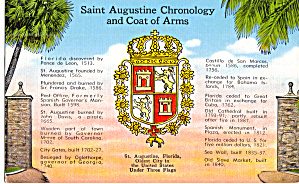 St Augustine Florida Coat of Arms p29931 (Image1)