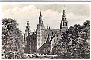 Frederiksborg Palace Hillerod Denmark Postcard p29941 (Image1)