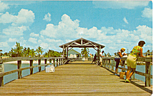 Public Fishing Pier Fort Myers Beach Florida P29951