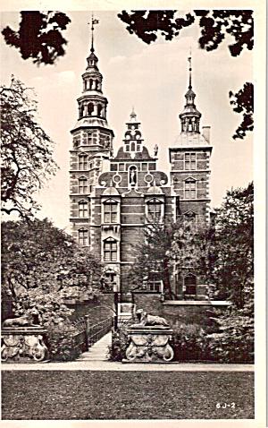 Rosenborg Castle Copenhagen Denmark Postcard p29954 (Image1)