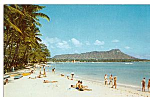 Waikiki Beach HI and Diamond Head p29967 (Image1)