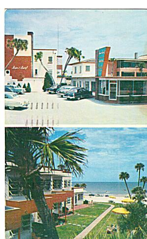 Sun and Surf Apt Motel Daytona Beach FL Postcard p29982 (Image1)