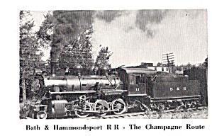 Bath and Hammondsport Steam Loco No 11 p29994 (Image1)