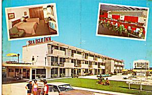 Sea Isle Inn Sea Isle City NJ Postcard p30020 (Image1)